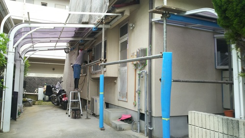K様邸(向洋新町)バスリフォーム・外壁塗装工事_d0125228_20432467.jpg