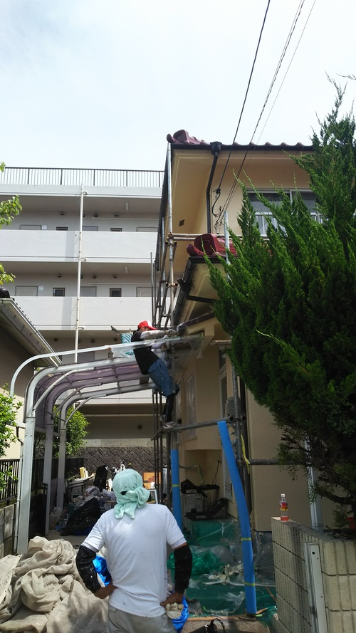 K様邸(向洋新町)バスリフォーム・外壁塗装工事_d0125228_20501641.jpg