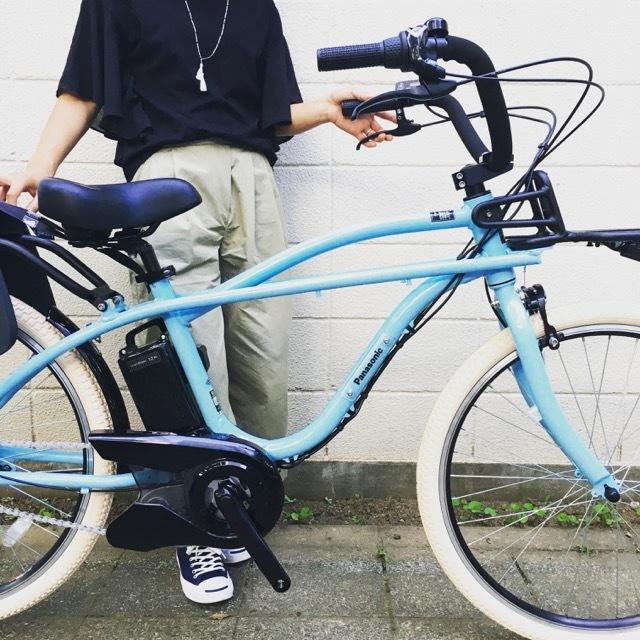 BEAMS x Panasonic 「 BP02 」パナソニック ビームス ボバイクONE Yepp ビッケ GRI MOB トート EZ ハイディ ステップクルーズ 電動自転車 おしゃれ自転車_b0212032_20585869.jpg