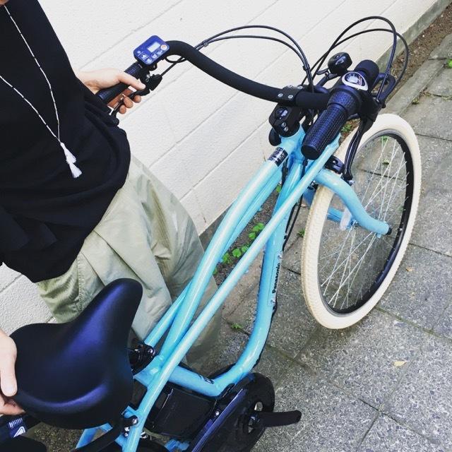 BEAMS x Panasonic 「 BP02 」パナソニック ビームス ボバイクONE Yepp ビッケ GRI MOB トート EZ ハイディ ステップクルーズ 電動自転車 おしゃれ自転車_b0212032_21025730.jpg
