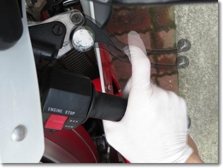 猛暑の三連休、ブレーキとチェーンの掃除_c0147448_13155028.jpg