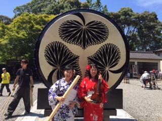 岡崎市 滝山寺 味噌桶太鼓完成祝い_f0109257_2333047.jpg