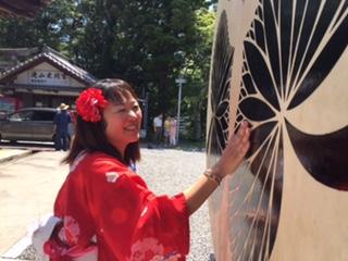 岡崎市 滝山寺 味噌桶太鼓完成祝い_f0109257_233620.jpg