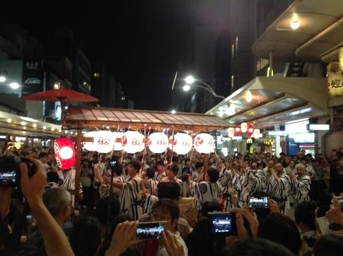 祇園祭 神楽奉納_b0153663_15592654.jpeg
