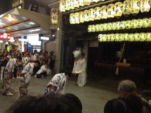 祇園祭 神楽奉納_b0153663_16014197.jpeg