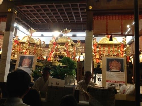 祇園祭 神楽奉納_b0153663_16165580.jpeg