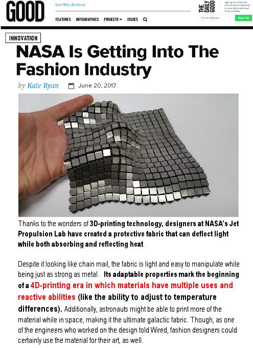 NASAがファッション業界へ?! 4Dプリンティング時代の幕開け?!_b0007805_239078.jpg