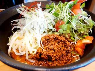 拉麺 かもす@大庭 ★☆ (冷し担々麺)_f0080612_19381962.jpg