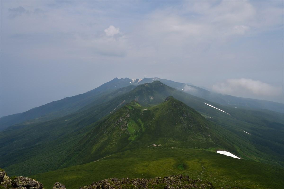 花の季節の羅臼岳 2017.7.16_a0145819_20273118.jpg