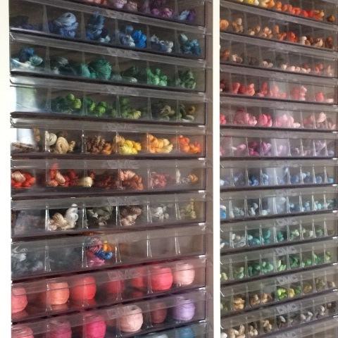 チームクレアで糸整理Day②憧れの糸ケースにココロときめいています♡_a0157409_11175916.jpg