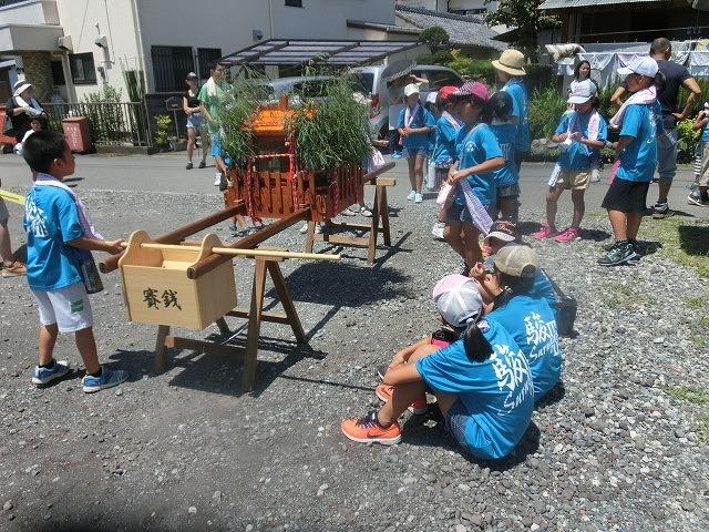梅雨明け?の酷暑の中で始まった 駿河台三丁目の天王祭_f0141310_06482956.jpg