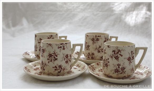 tasse et soucoupe anncienne サルグミンヌのカップ&ソーサー Sarreguemines フランスアンティーク その2_d0184921_16041179.jpg