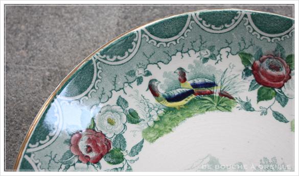 tasse et soucoupe anncienne サルグミンヌのカップ&ソーサー Sarreguemines フランスアンティーク その3_d0184921_17002688.jpg