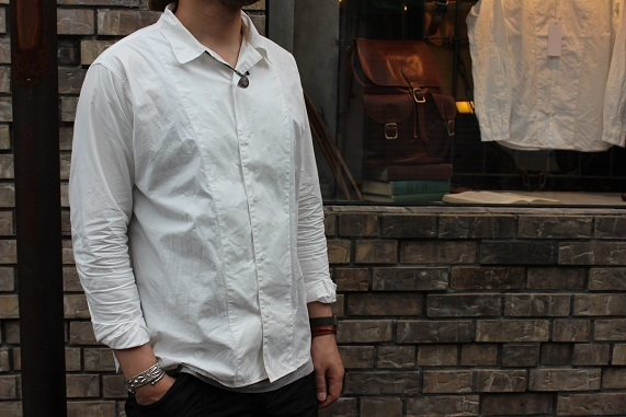 "1枚でオーラのあるシャツ 「another 20th century」""Deskwork Shirts\""_f0191324_07523475.jpg"