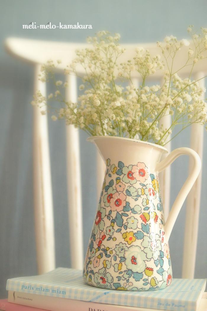 ◆デコパージュ・ベーシックコースのカリキュラム⑧:花瓶にもなるピッチャー_f0251032_10310226.jpg