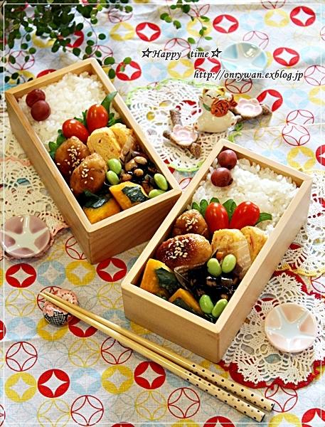 おから入りつくねの照焼き弁当と今夜のおうちごはん♪_f0348032_18105675.jpg