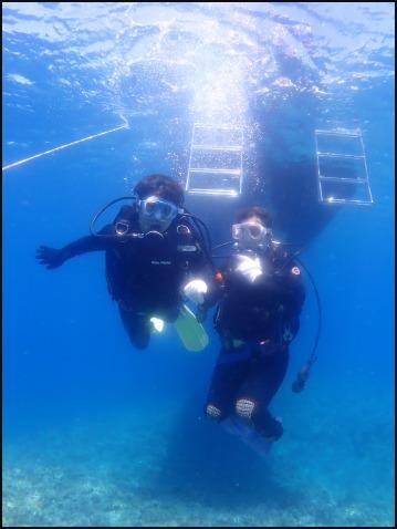 7月19日残波岬ファンVS慶良間体験ダイビング_c0070933_22174895.jpg