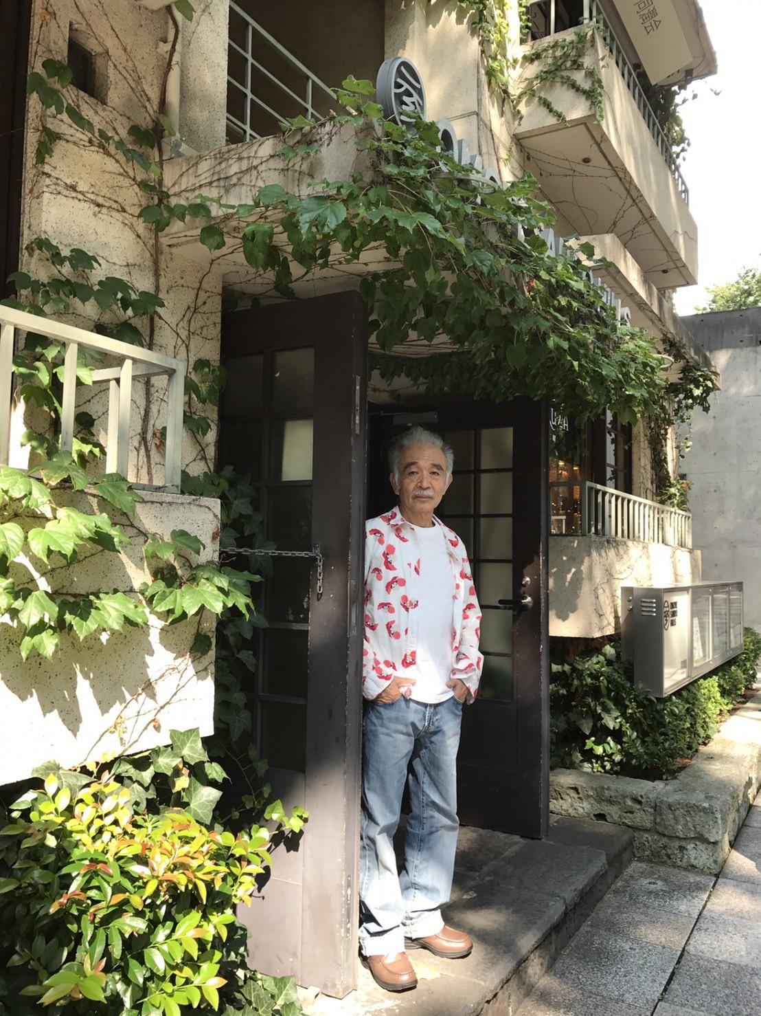 表参道同潤会アパート‥42年前「風の街」のレコードジャケットの撮影現場_b0096957_20101931.jpg