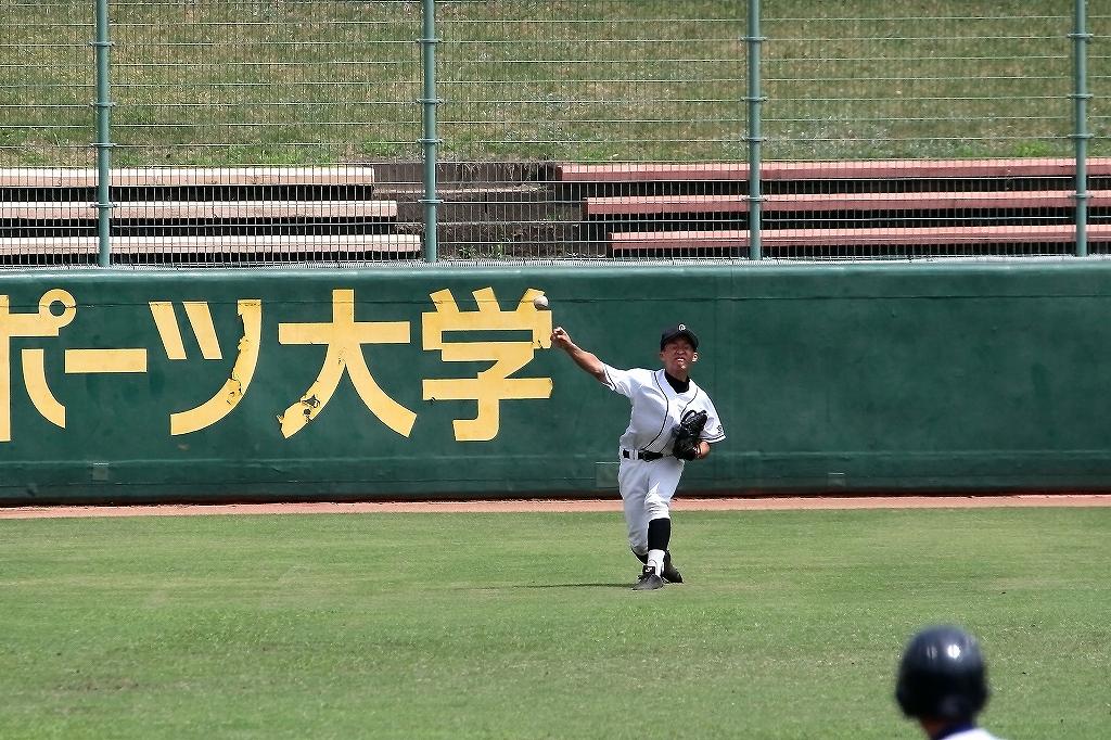 第99回全国高等学校野球選手権京都大会 大江高校vs海洋高校 2_a0170082_6492183.jpg