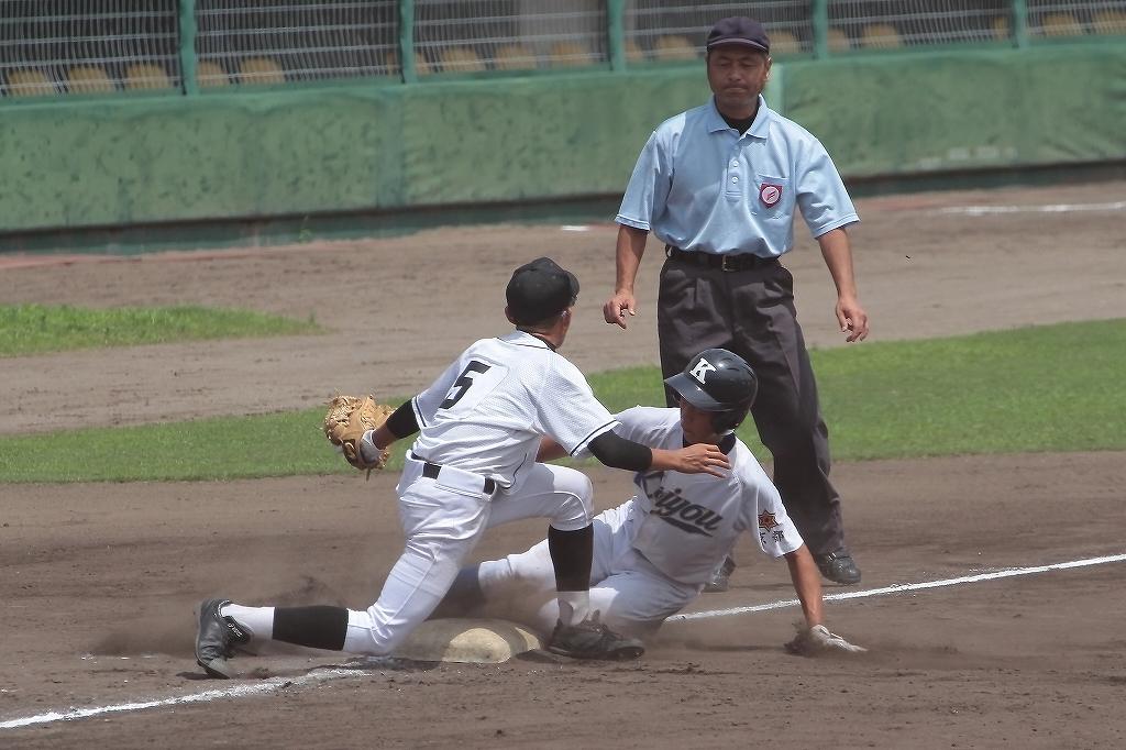 第99回全国高等学校野球選手権京都大会 大江高校vs海洋高校 2_a0170082_6492874.jpg