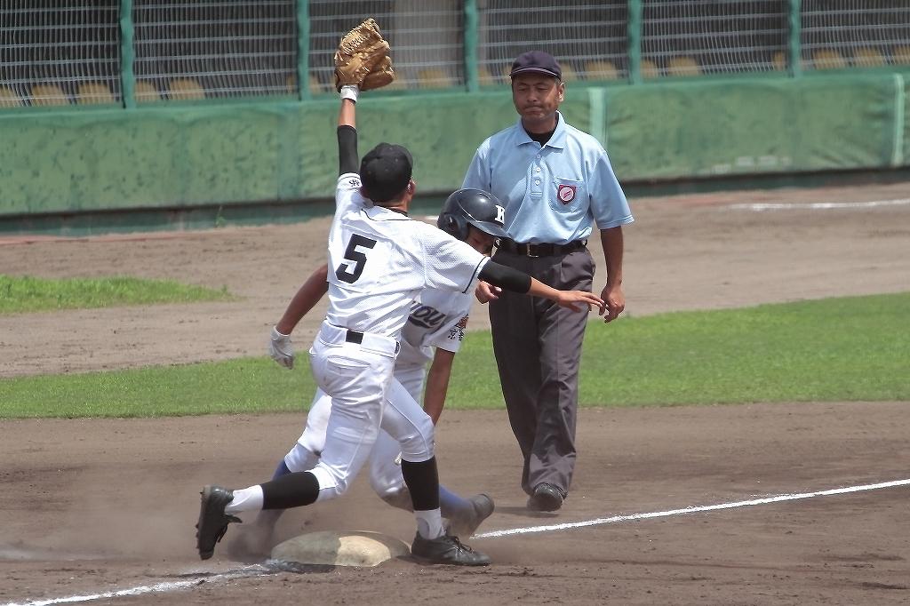 第99回全国高等学校野球選手権京都大会 大江高校vs海洋高校 2_a0170082_6493470.jpg