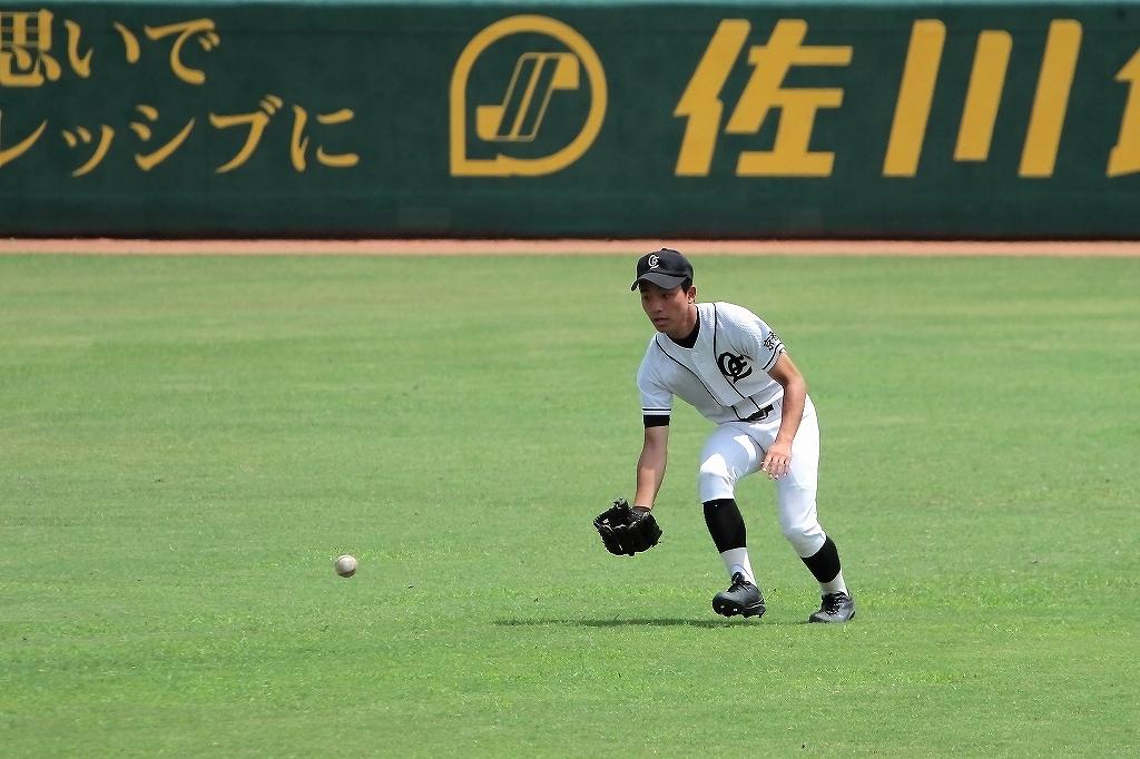 第99回全国高等学校野球選手権京都大会 大江高校vs海洋高校 2_a0170082_649737.jpg