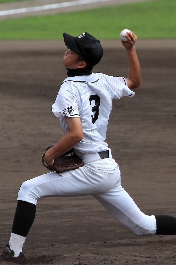 第99回全国高等学校野球選手権京都大会 大江高校vs海洋高校 2_a0170082_6503884.jpg