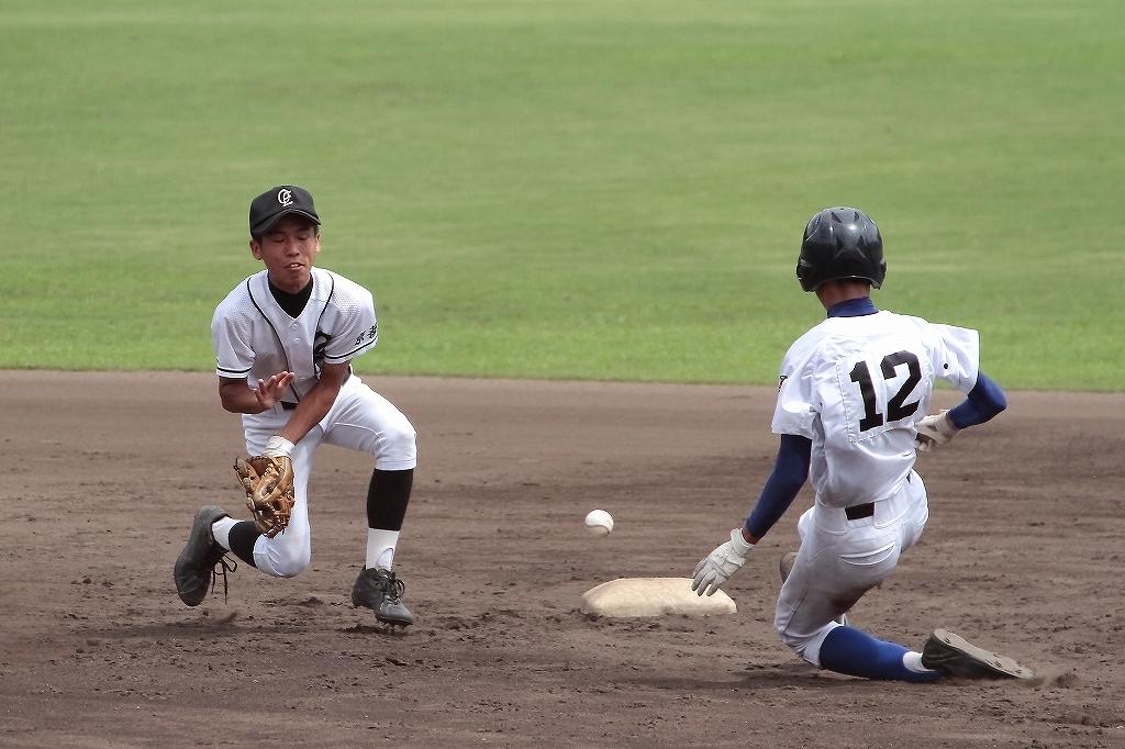 第99回全国高等学校野球選手権京都大会 大江高校vs海洋高校 2_a0170082_6504520.jpg
