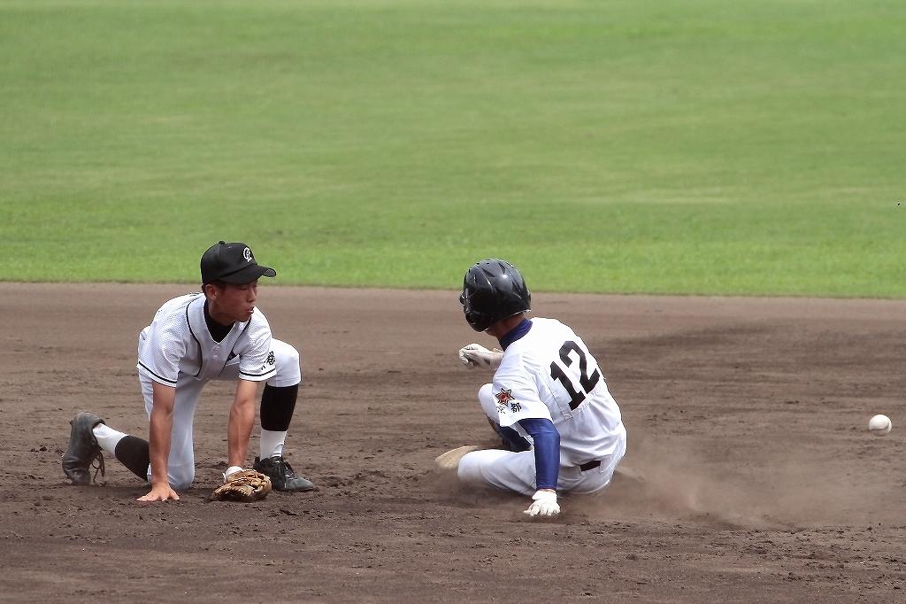 第99回全国高等学校野球選手権京都大会 大江高校vs海洋高校 2_a0170082_6505275.jpg