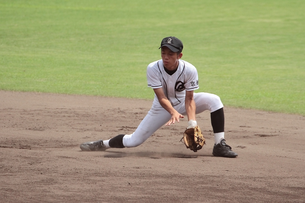 第99回全国高等学校野球選手権京都大会 大江高校vs海洋高校 2_a0170082_6514776.jpg