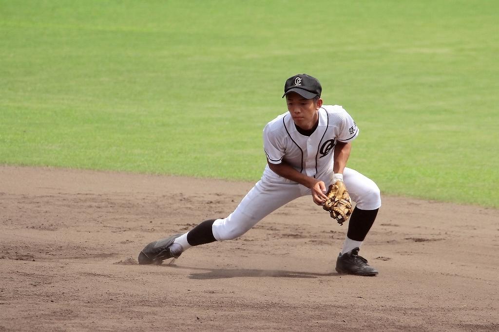 第99回全国高等学校野球選手権京都大会 大江高校vs海洋高校 2_a0170082_6515577.jpg