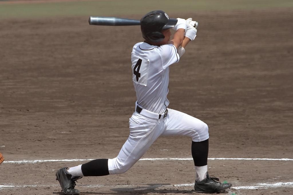 第99回全国高等学校野球選手権京都大会 大江高校vs海洋高校 2_a0170082_6533414.jpg