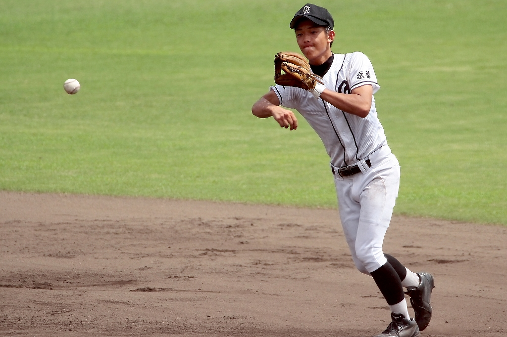 第99回全国高等学校野球選手権京都大会 大江高校vs海洋高校 2_a0170082_653430.jpg