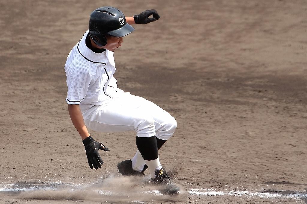 第99回全国高等学校野球選手権京都大会 大江高校vs海洋高校 2_a0170082_6545977.jpg