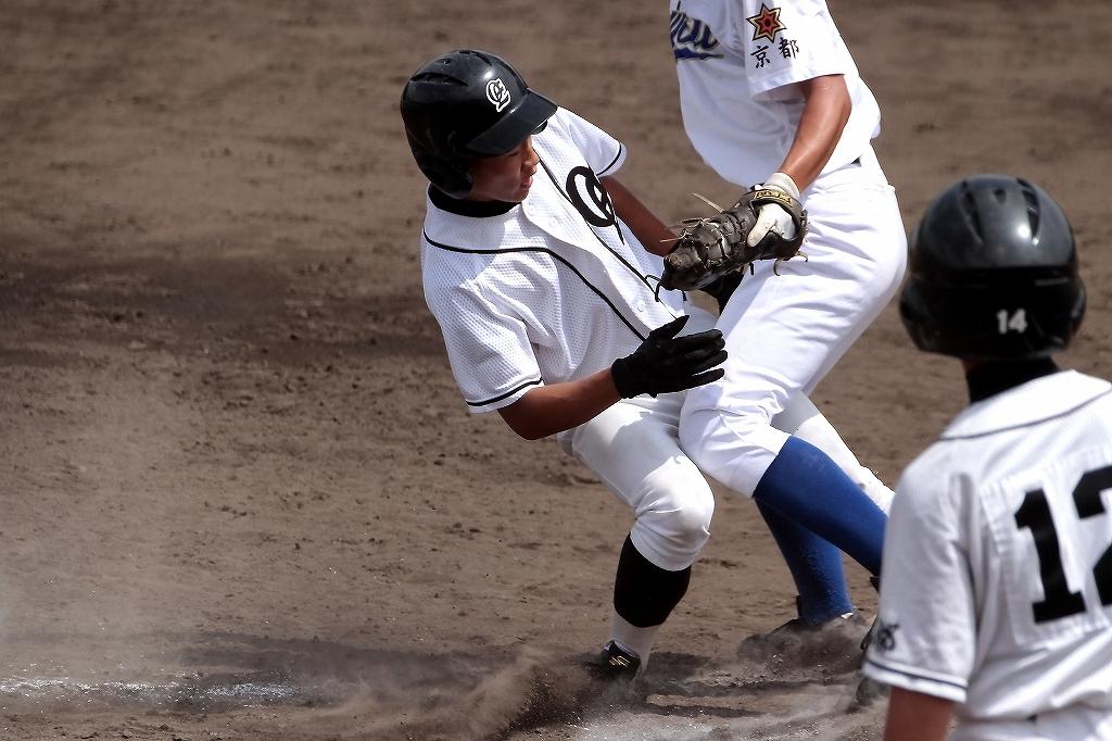 第99回全国高等学校野球選手権京都大会 大江高校vs海洋高校 2_a0170082_6551577.jpg