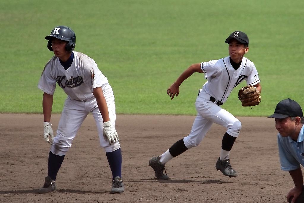 第99回全国高等学校野球選手権京都大会 大江高校vs海洋高校 2_a0170082_6552266.jpg