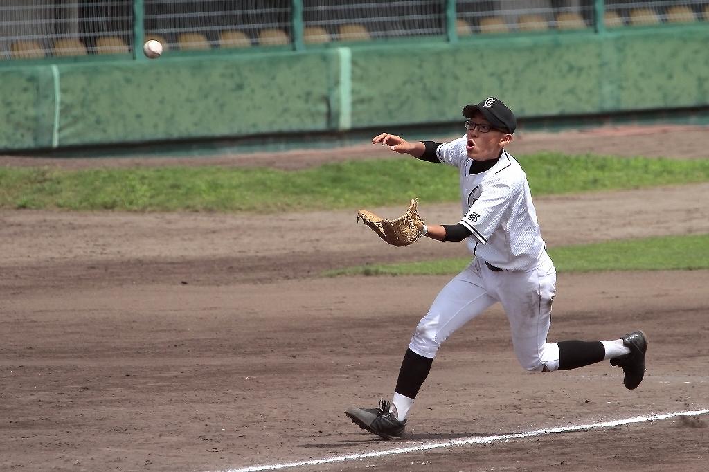 第99回全国高等学校野球選手権京都大会 大江高校vs海洋高校 2_a0170082_6552935.jpg