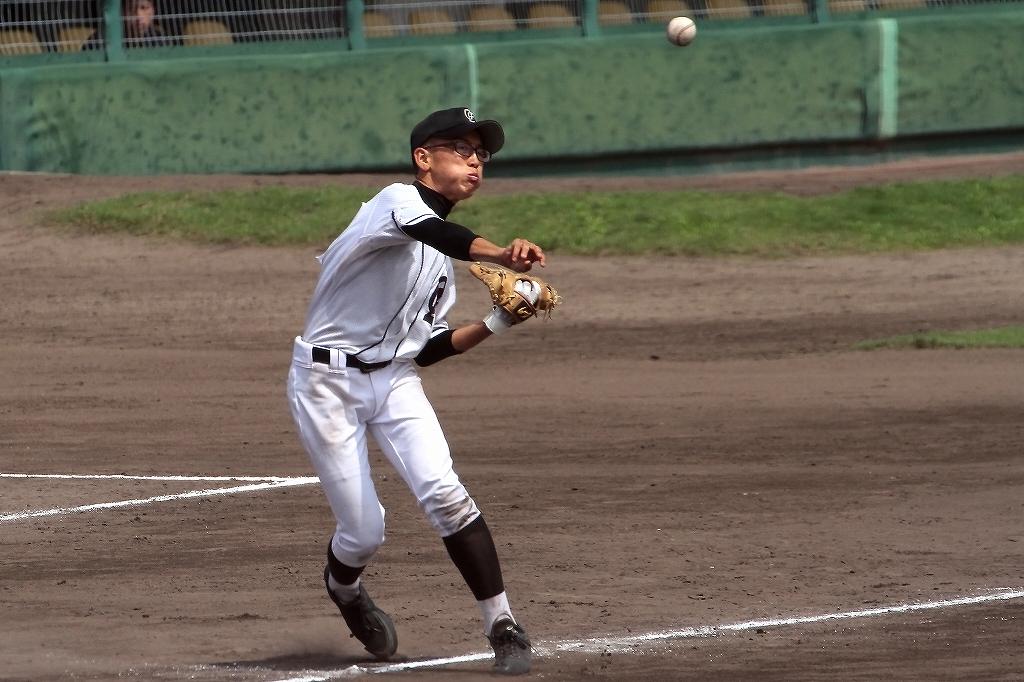 第99回全国高等学校野球選手権京都大会 大江高校vs海洋高校 2_a0170082_6553925.jpg