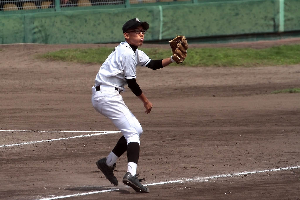 第99回全国高等学校野球選手権京都大会 大江高校vs海洋高校 2_a0170082_655489.jpg