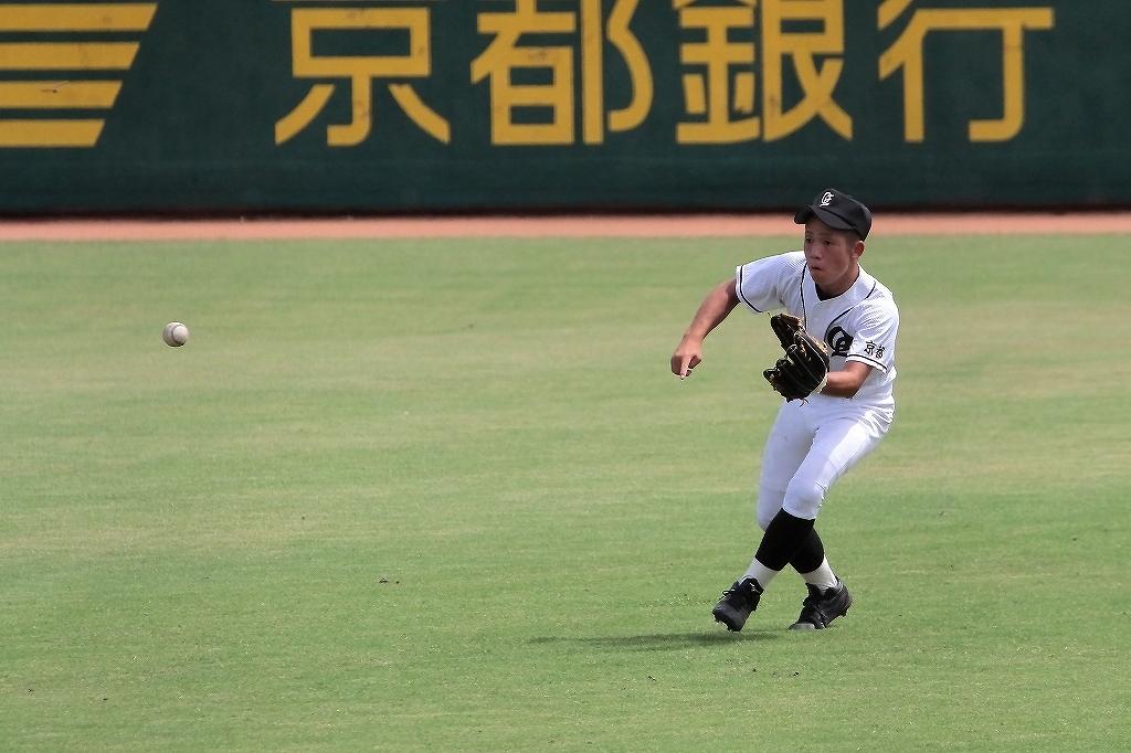 第99回全国高等学校野球選手権京都大会 大江高校vs海洋高校 2_a0170082_6555679.jpg