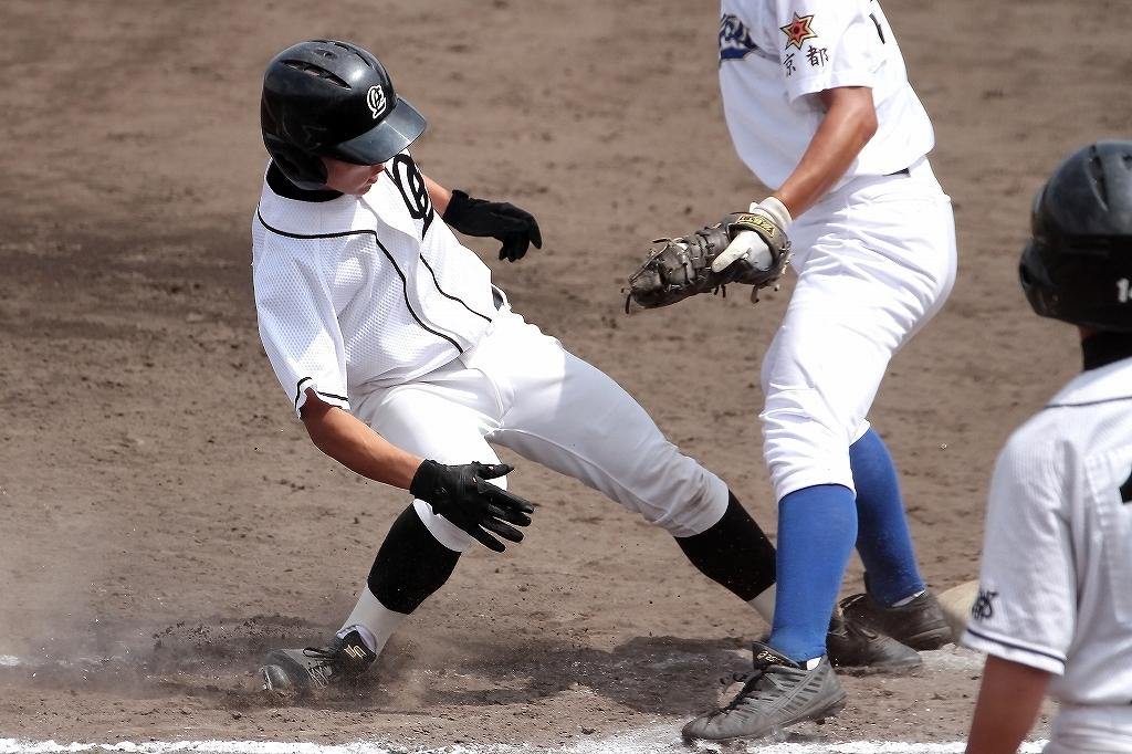 第99回全国高等学校野球選手権京都大会 大江高校vs海洋高校 2_a0170082_655770.jpg