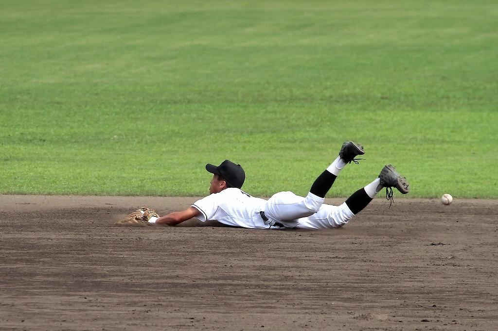 第99回全国高等学校野球選手権京都大会 大江高校vs海洋高校 2_a0170082_6562253.jpg