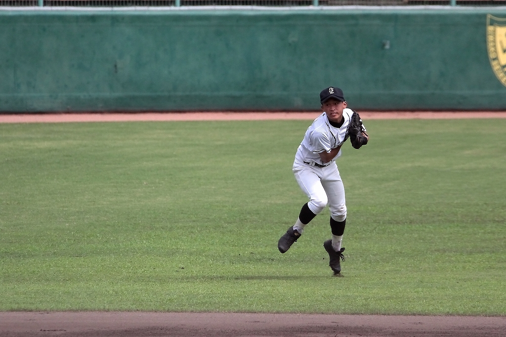 第99回全国高等学校野球選手権京都大会 大江高校vs海洋高校 2_a0170082_6564443.jpg