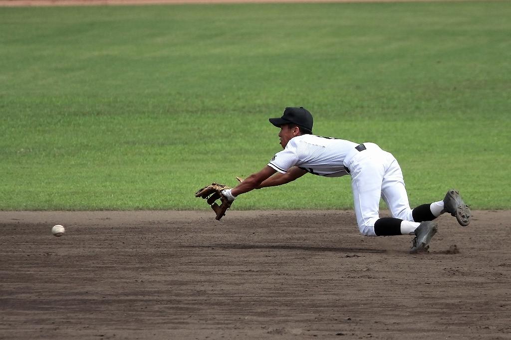 第99回全国高等学校野球選手権京都大会 大江高校vs海洋高校 2_a0170082_656485.jpg