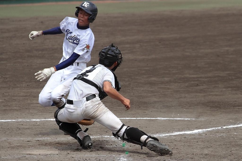 第99回全国高等学校野球選手権京都大会 大江高校vs海洋高校 2_a0170082_6565149.jpg