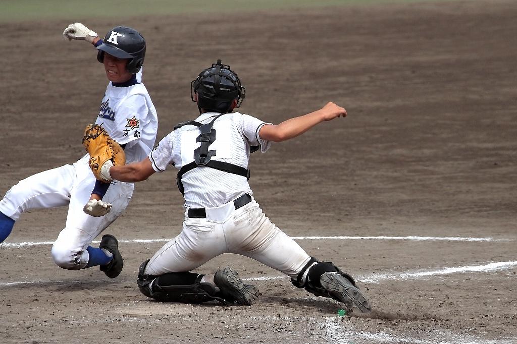 第99回全国高等学校野球選手権京都大会 大江高校vs海洋高校 2_a0170082_6565934.jpg