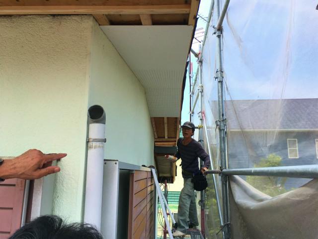 半田山 Yさんの家 屋根改修工事・水廻りのリフォーム ★大工工事_d0205883_13063264.jpg