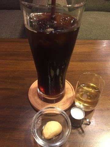 喫茶 1er ぷるみえ (トウモロコシとベーコンのご飯 レッドチェダーチーズソース)_e0115904_17463687.jpg