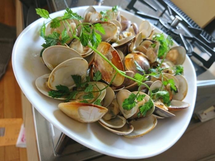 ガスコンで国産ハマグリの簡単グリルのレシピ~九十九里浜ではハマグリが大漁らしい。_b0221506_07503821.jpg