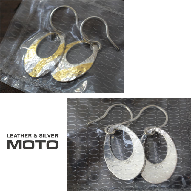 moto leather&silver [モトレザー] OVAL-PIERCE S [SVK24-S] アクセサリー・オーバルピアス・シルバーピアス・ゴールドピアス LADY\'S_f0051306_18032493.jpg